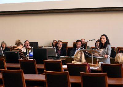 Nachwuchskraft stellt ihre Session aus dem FutureCamp 2018 vor