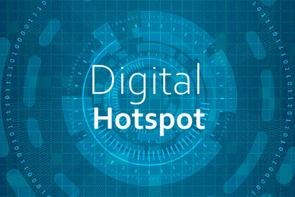 Symbolbild für Digital Hotspot Themen