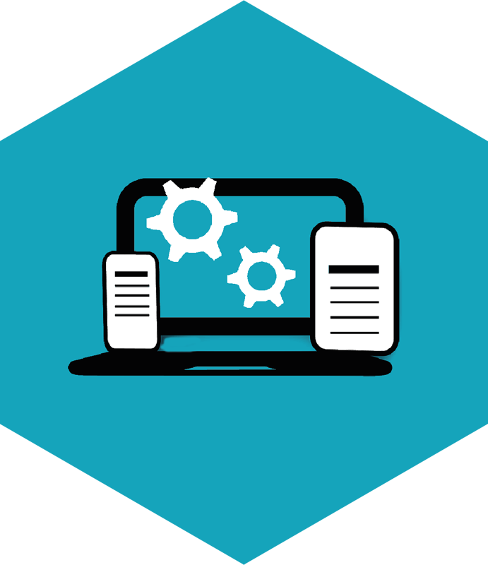 Icon Karriere Ausbildung - Arbeitsplatz / Systeme
