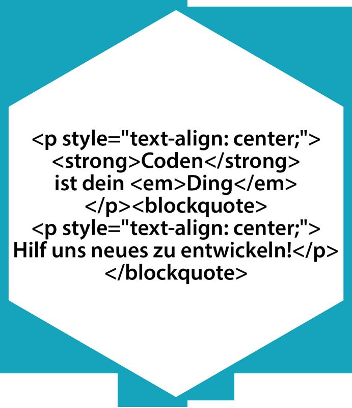 Icon Karriere Ausbildung - Programmierung / Coden