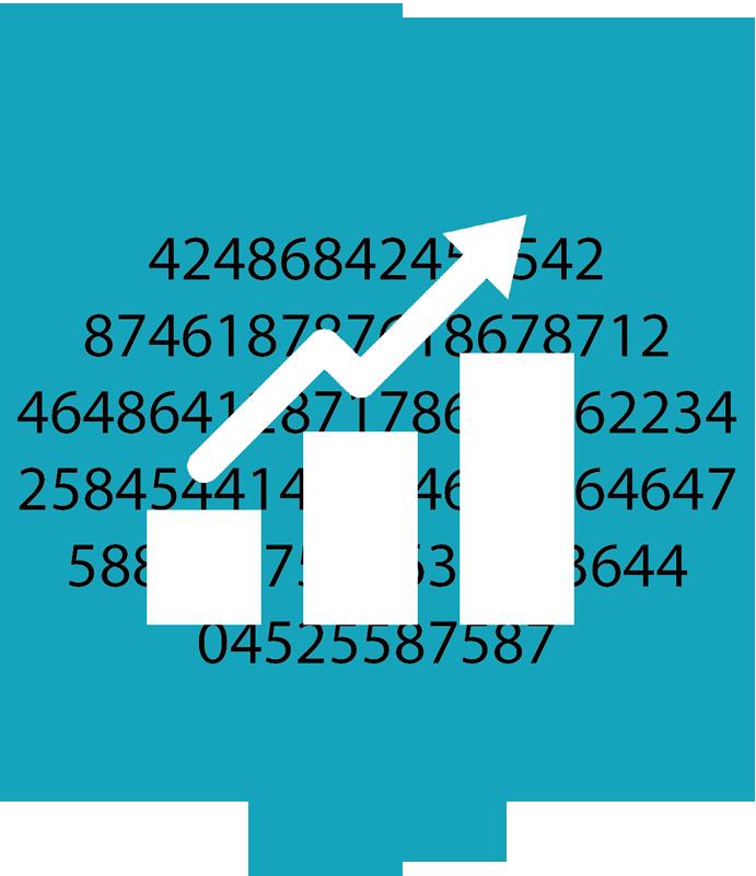 Icon Karriere Ausbildung - Controlling / Statisitik