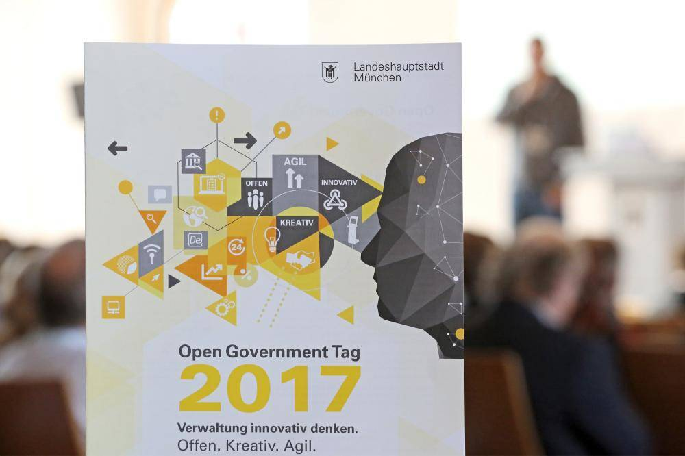 Das Logo des Open Government Tag 2017