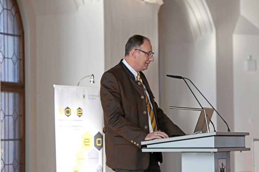 Thomas Bönig auf dem Open Government Tag 2018