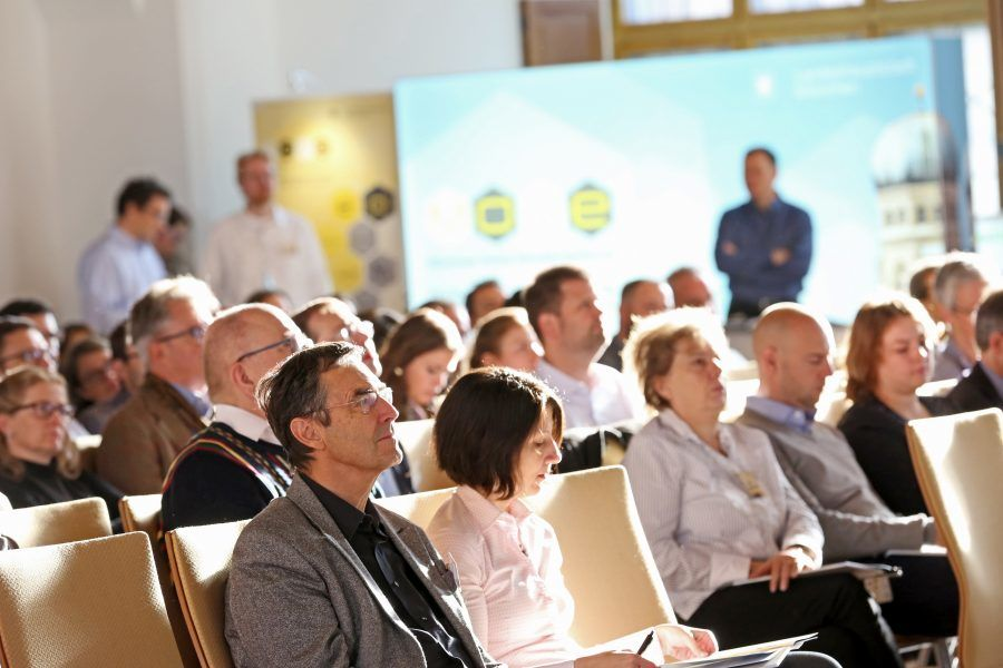 Das Publikum beim Open Government Tag 2018