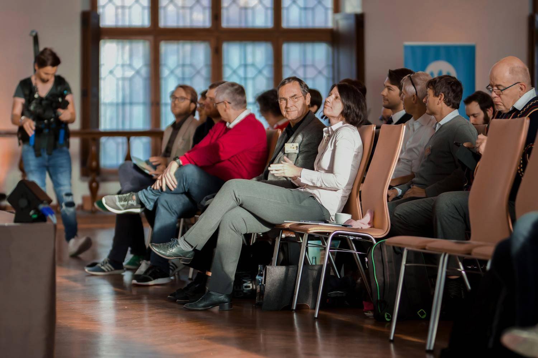 Publikum auf dem Open Government Tag 2018