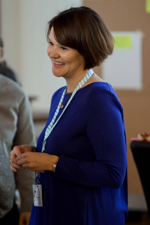 Eine Teilnehmerin auf dem Open Government Tag 2018