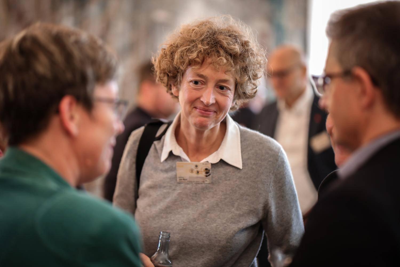 Eine Teilnehmerin des Open Government Tag 2018