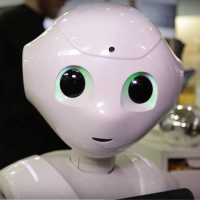 <div>Didi / Pepper-Roboter im Innovationscenter</div>