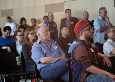 Publikum auf dem Barcamp #MucGov18