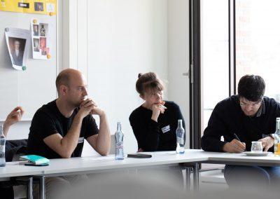 Diskussion auf dem Barcamp #MucGov18, Foto: vonderschaumedia
