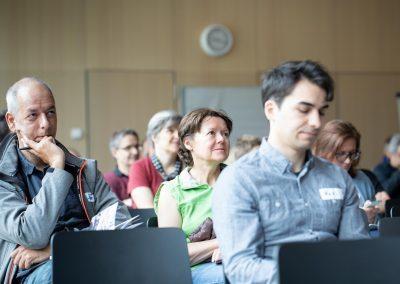 BarCamper im Publikum beim #MucGov18