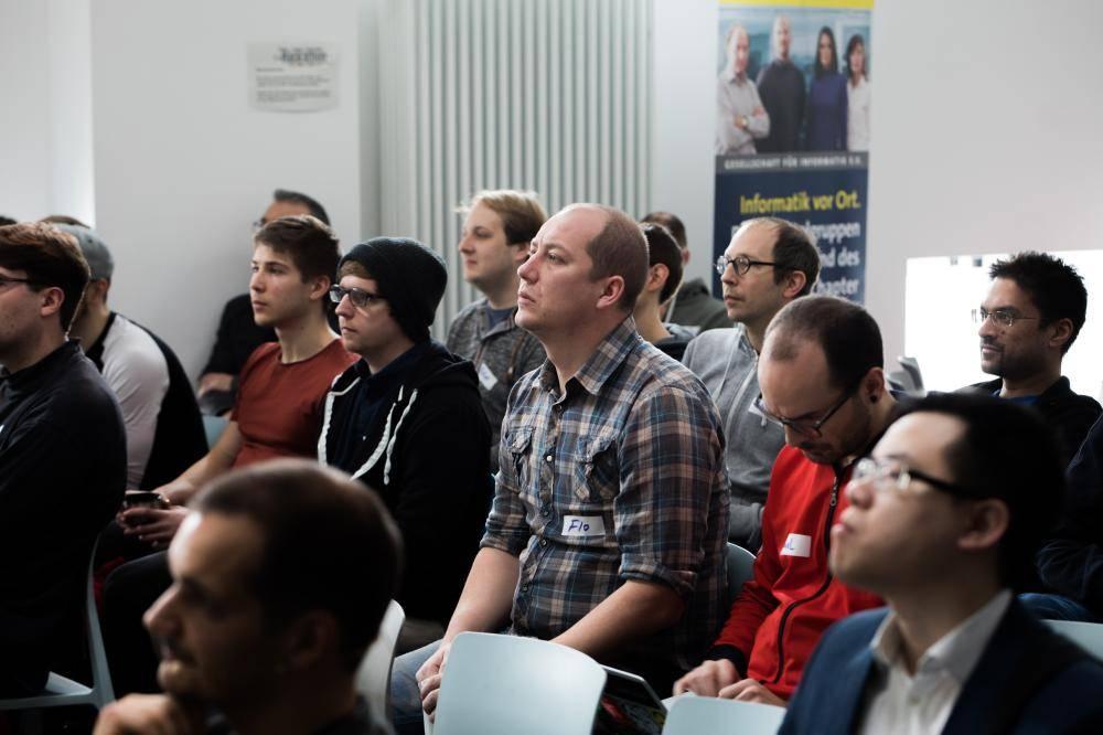 Teilnehmer im Publikum